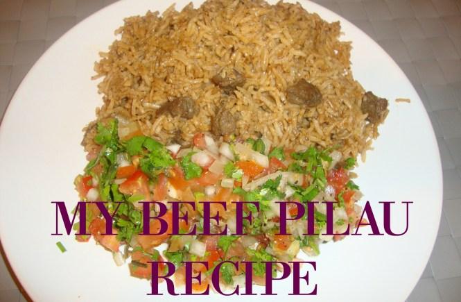 my beef pilau recipe