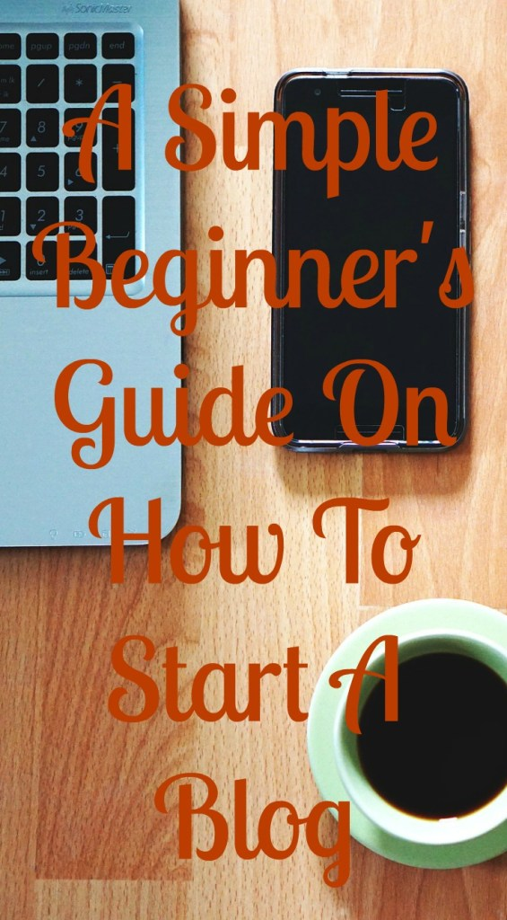 how to start a simple blog