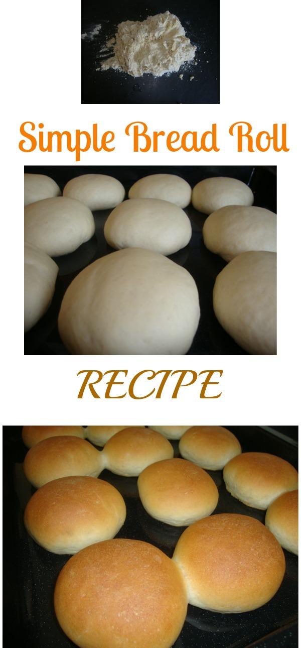 my simple bread roll recipe