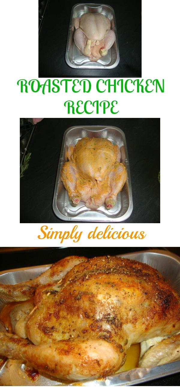 my tasty roasted chicken recipe
