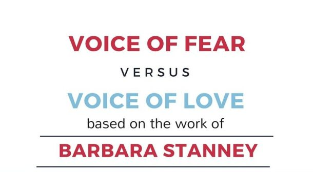 love vs fear