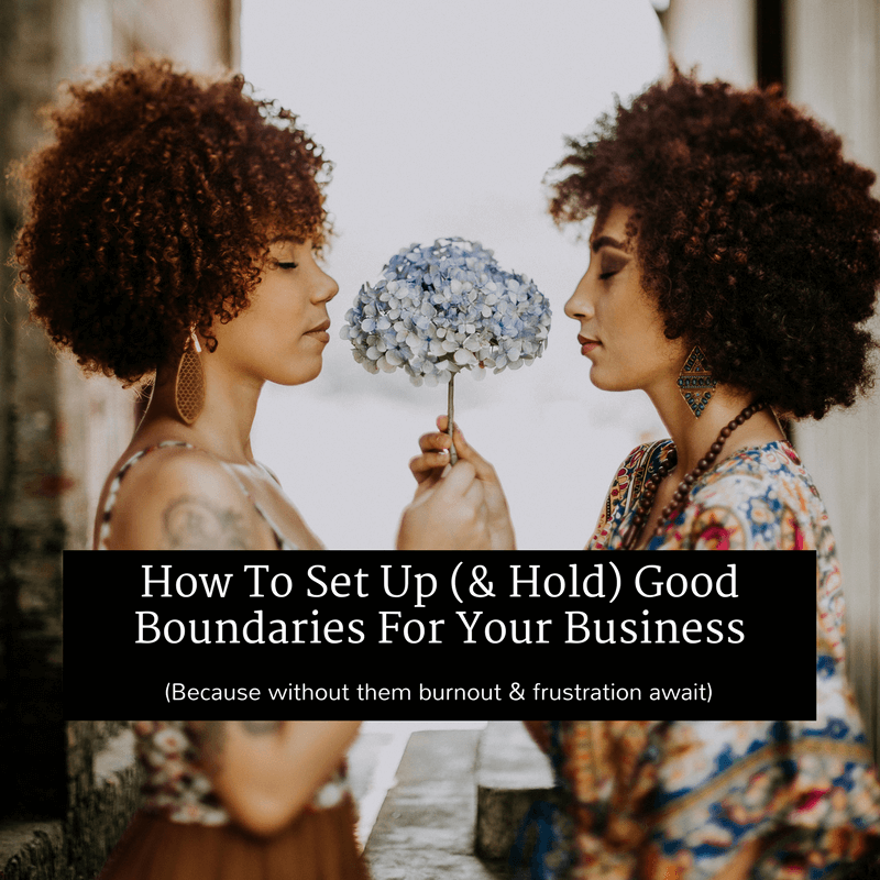 good boundaries for your business