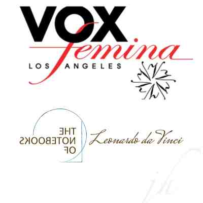 "Vox Femina performs ""The Notebooks of Leonardo da Vinci"" @ First Congregational Church of Los Angeles"