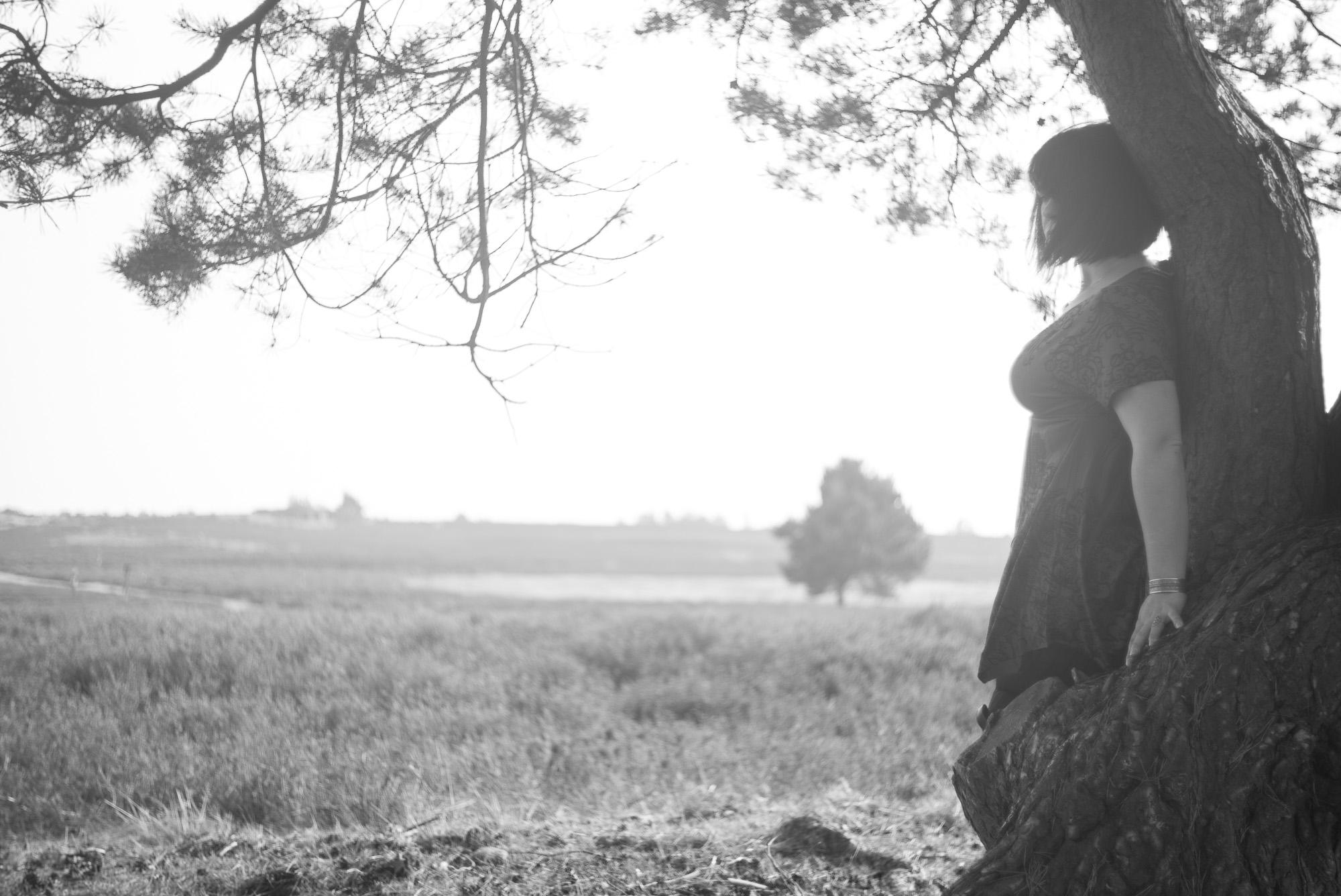 Mit Stephanie in der Mehlinger Heide