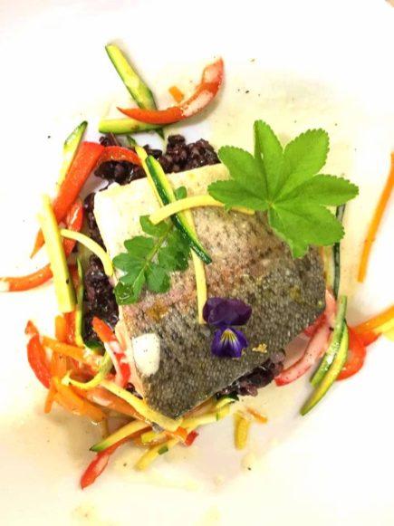 Leckere Fischgerichte im Dolomiten Restaurant Jochgrimm