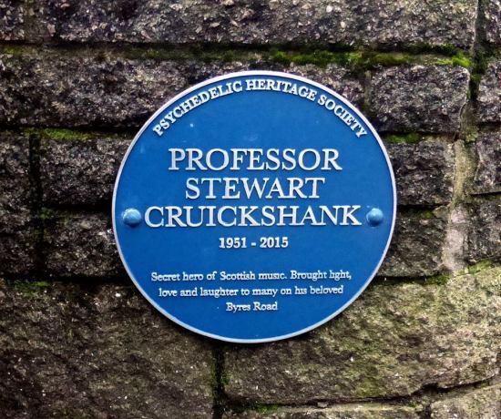 stewartcruickshank plaque