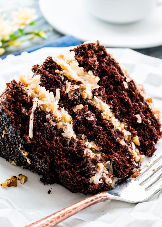 German Chocolate Cake Jo Cooks