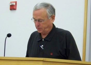 Interim Utilities Director Pete Connet