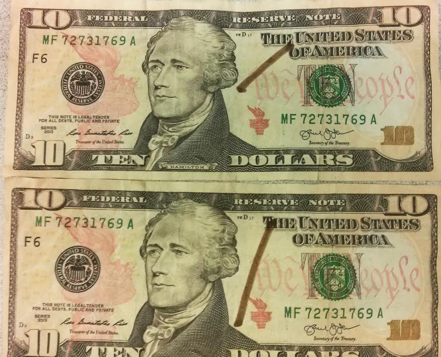 Counterfeit 10 Bills Passed At Local Businesses Joco Report