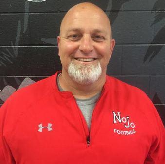 Coach Jonathan Riba ready to lead the NJHS football team.