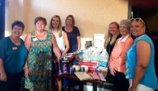 From left to right:  Teresa Grant,  Martha Stovall,  Cindy Raynor,  Janet Lebo,  Amanda Blakely,  Ruth Anderson and  Erin Belcher. Contributed photo