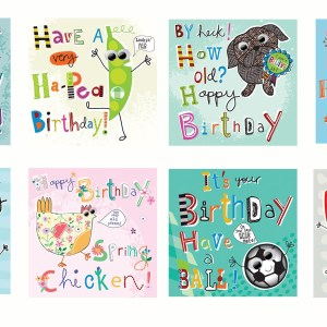 General birthday packs of 8 assorted greetings cards 799 pack of 8 eye eye captain birthday cards with googly eyes m4hsunfo