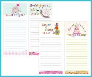 Magnetic Jotter pad - Quadruple Packs £8.99