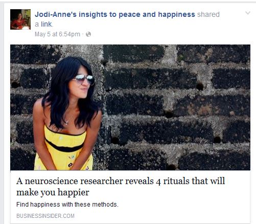 happiness article