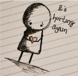 hurting again