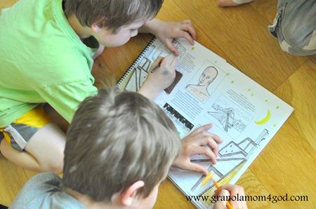 coloring through Brimwood Press history