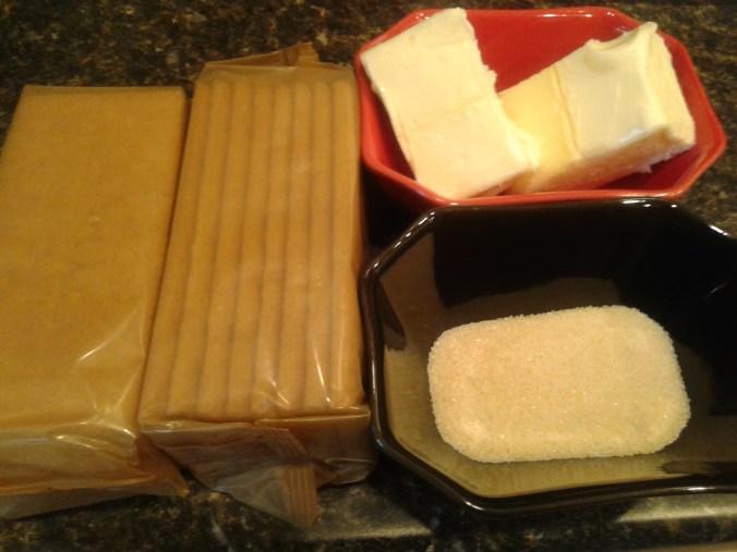 Homemade No Bake Cheesecake - Crust Ingredients