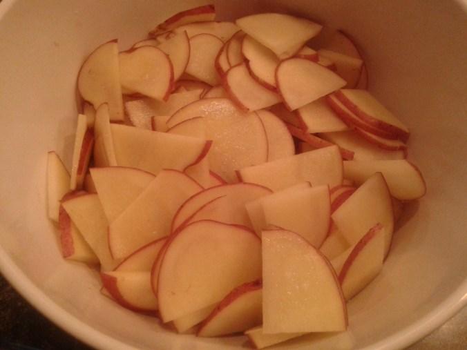 Homemade Baked Potato Chips 1