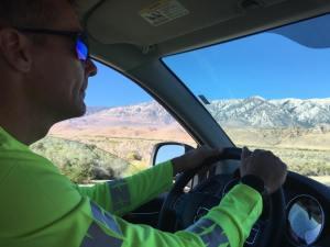 Jerry driving van - jodi