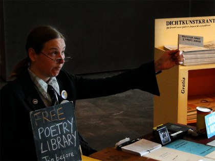 The Itinerant Poetry Librarian