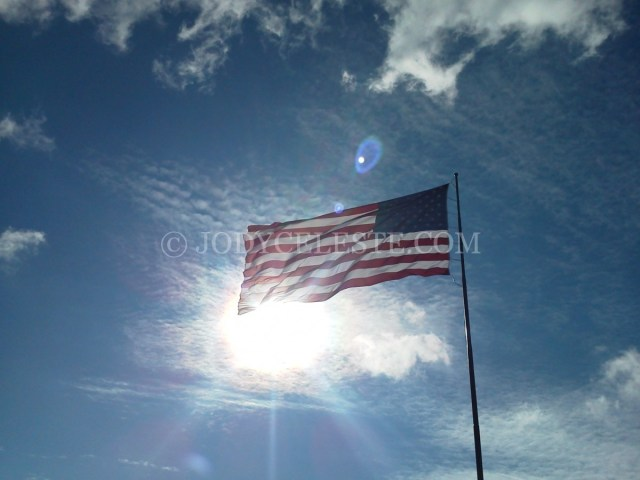 Sunshine American Flag
