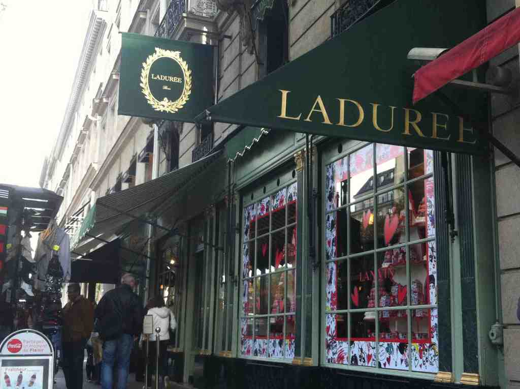 Too many tourists hit Laduree nowadays...
