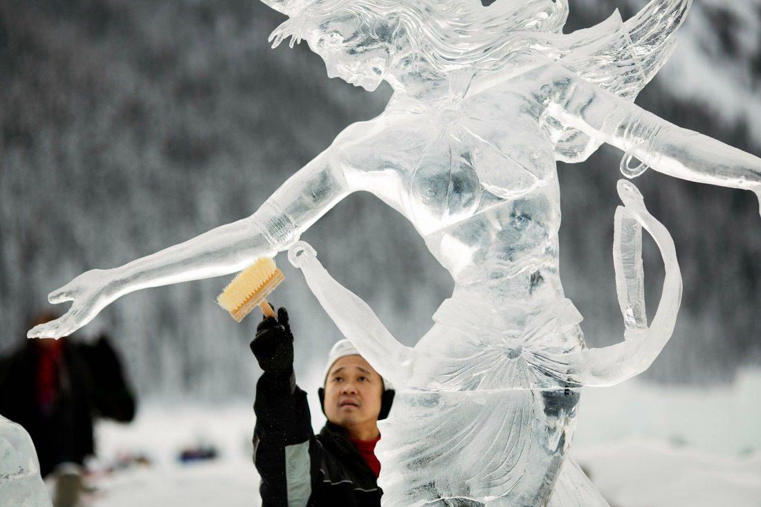 Ice Magic Festival at Lake Louise