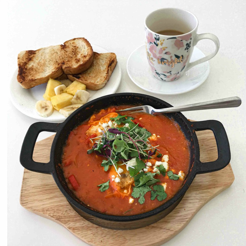 baked eggs in purgatory