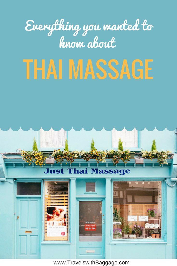 where to get thai massage