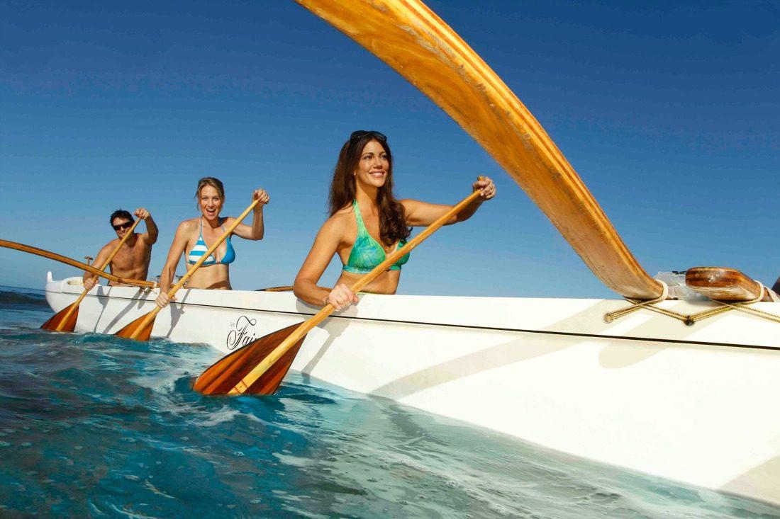 hawaiian canoeing