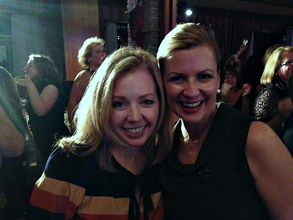 Jody Robbins and Anna Olson
