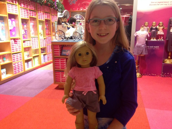 Remortgaging the House at the American Girl doll store NYC