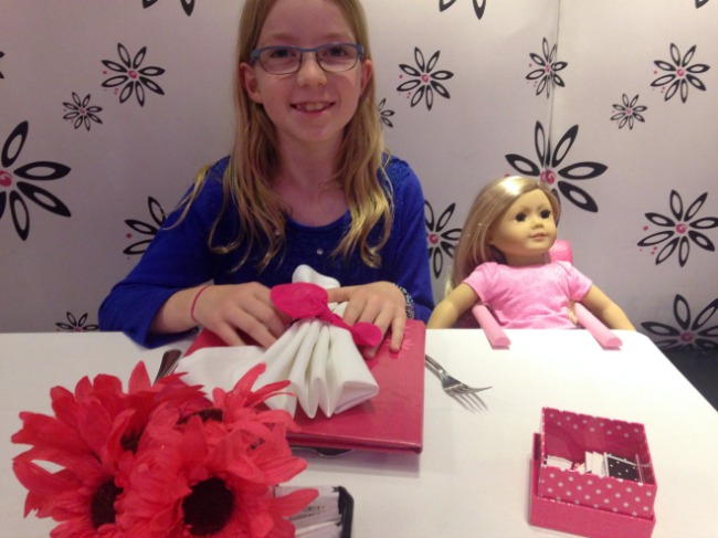 Dining at American Girl