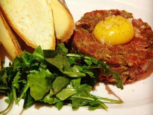 classic beef tartare