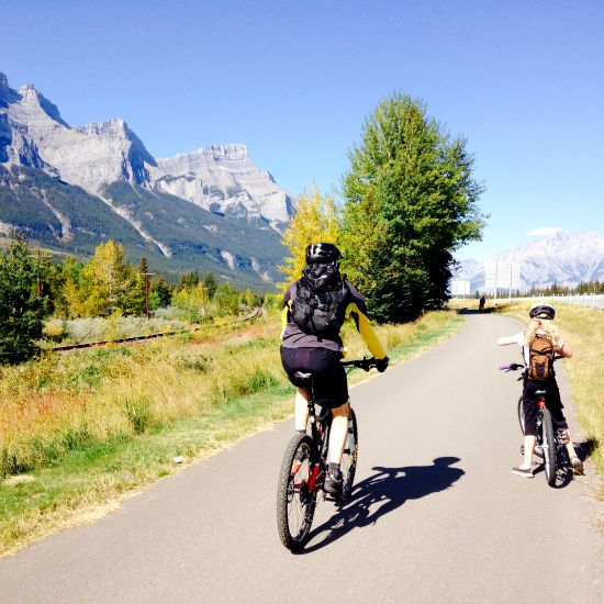 banff to canmore legacy trail