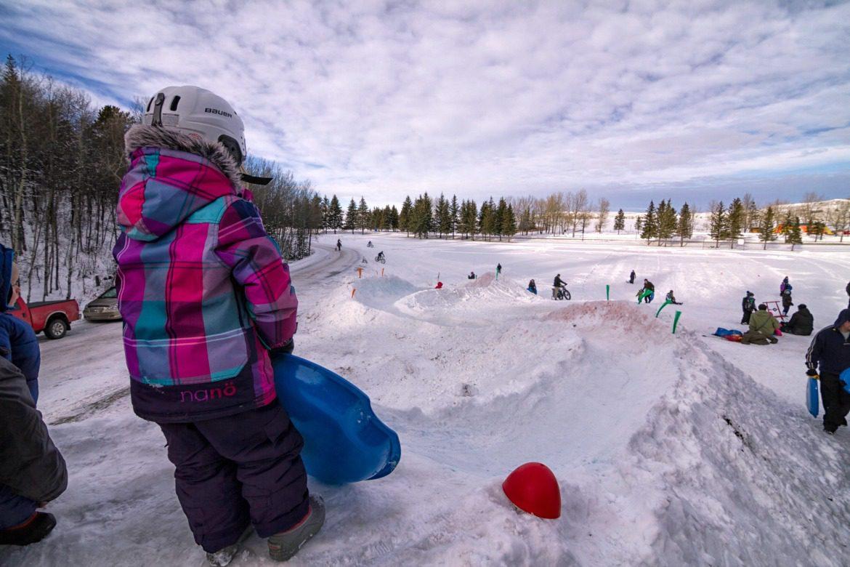 Snow luge