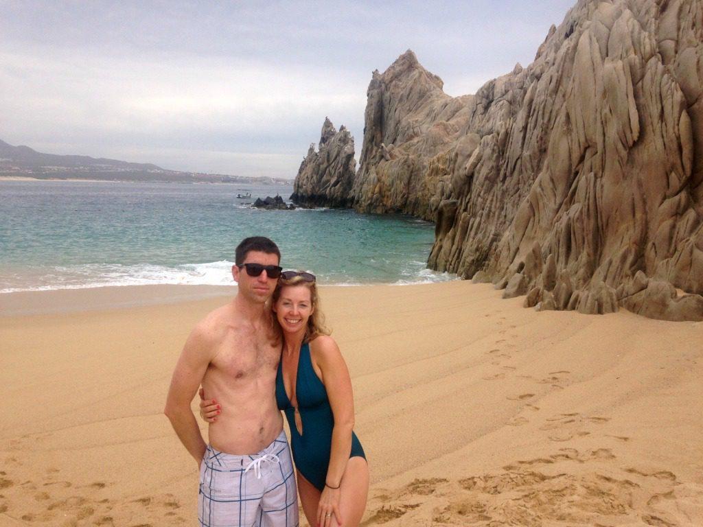 couple on lover's beach