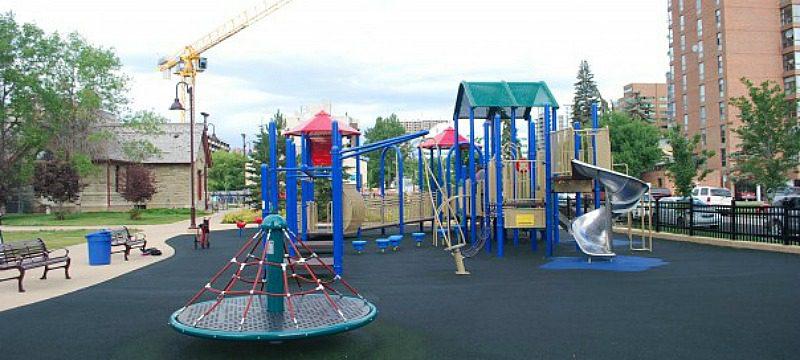 Haultain Playground Calgary