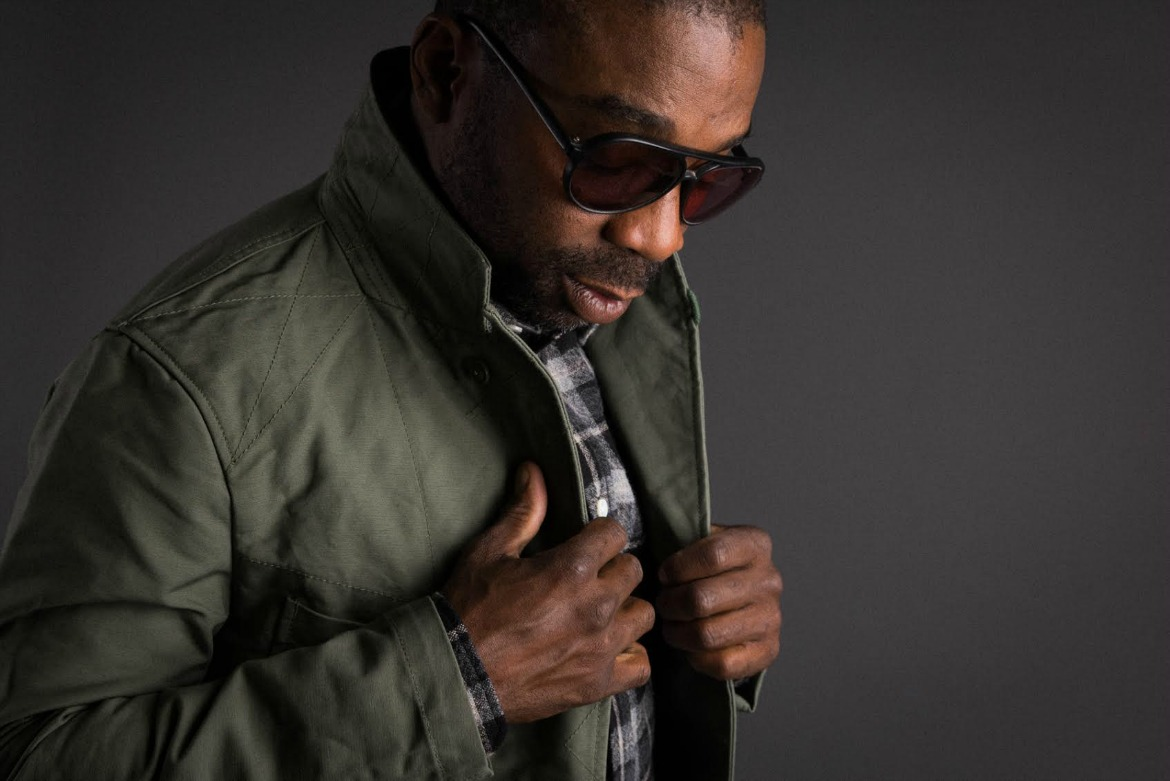 black man rocking sunglasses