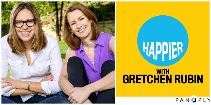 Gretchen Rubin and sister Liz Craft