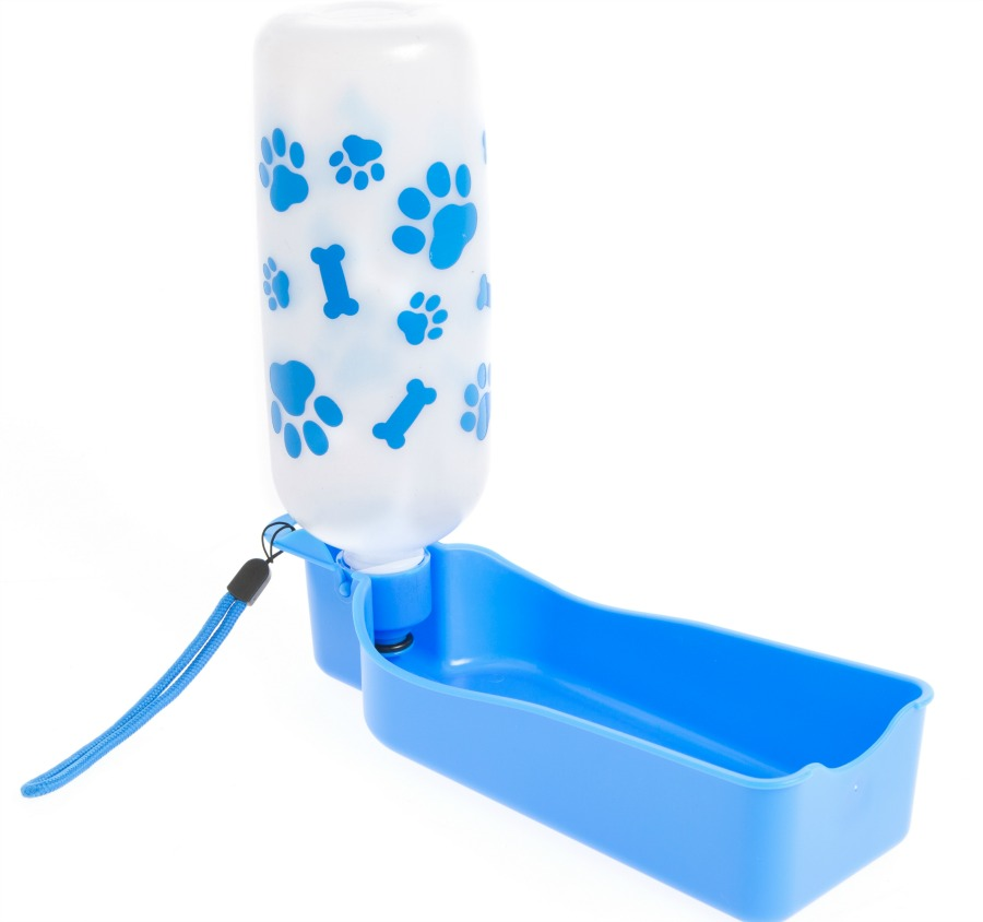 collapsable water bowl and bottle