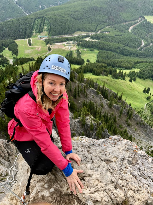 mountaineering in Banff National Park