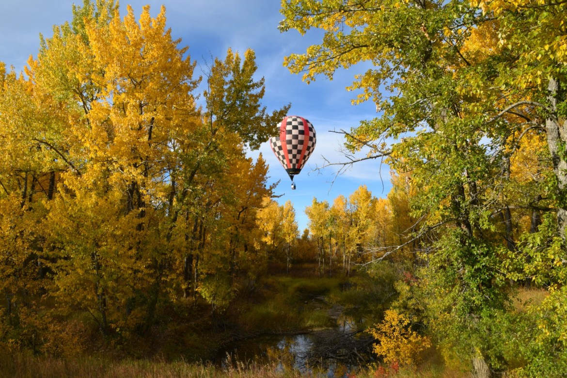 Head to High River for the Heritage Inn International Balloon Festival