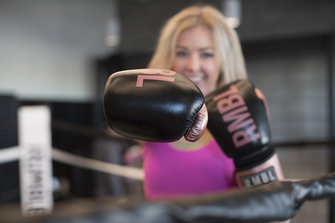 Rumble Boxing studio