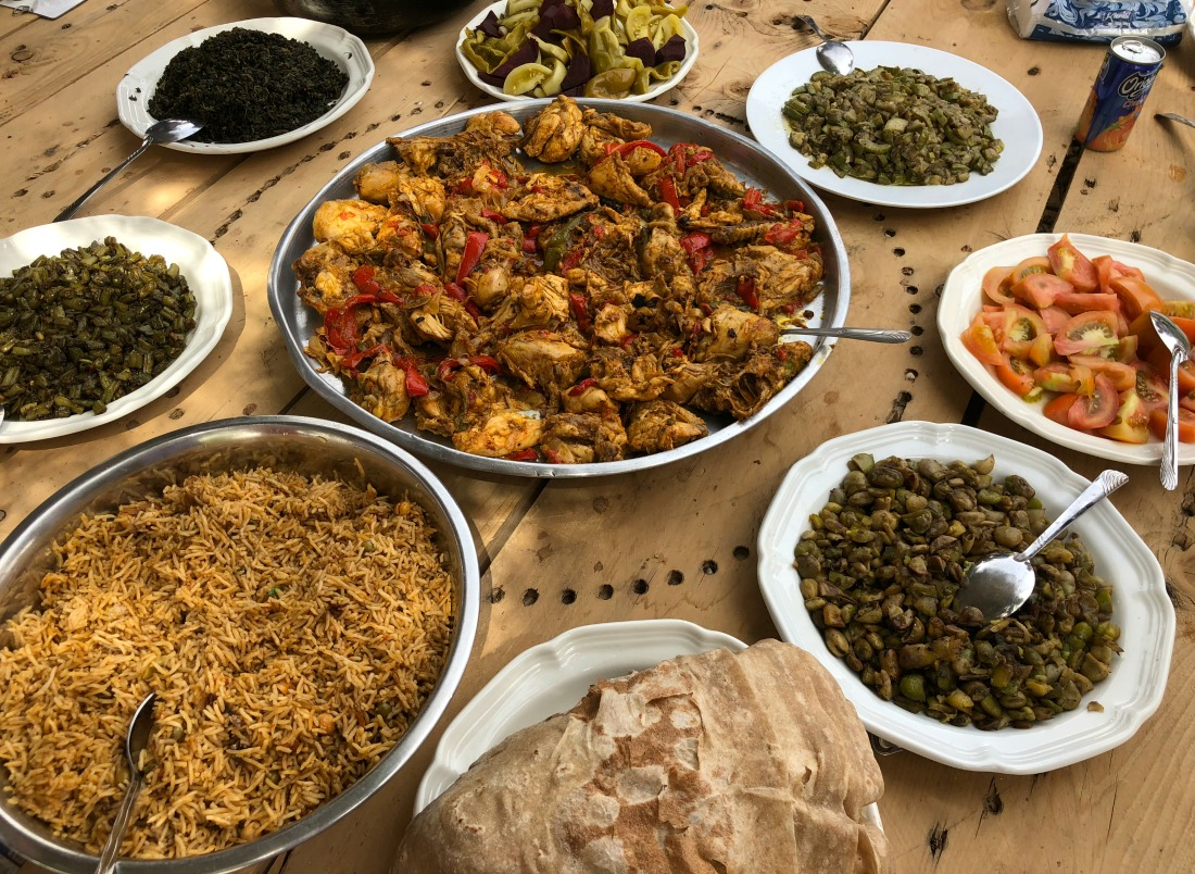 middle eastern feast
