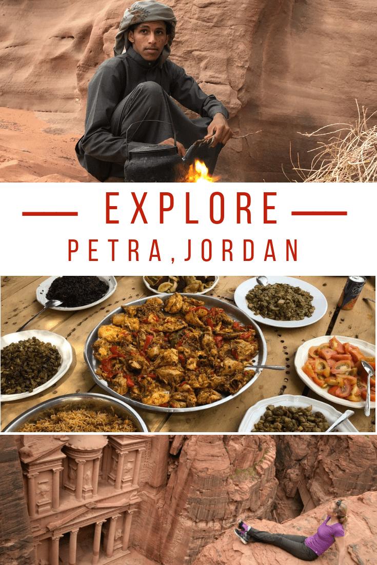 touring petra jordan