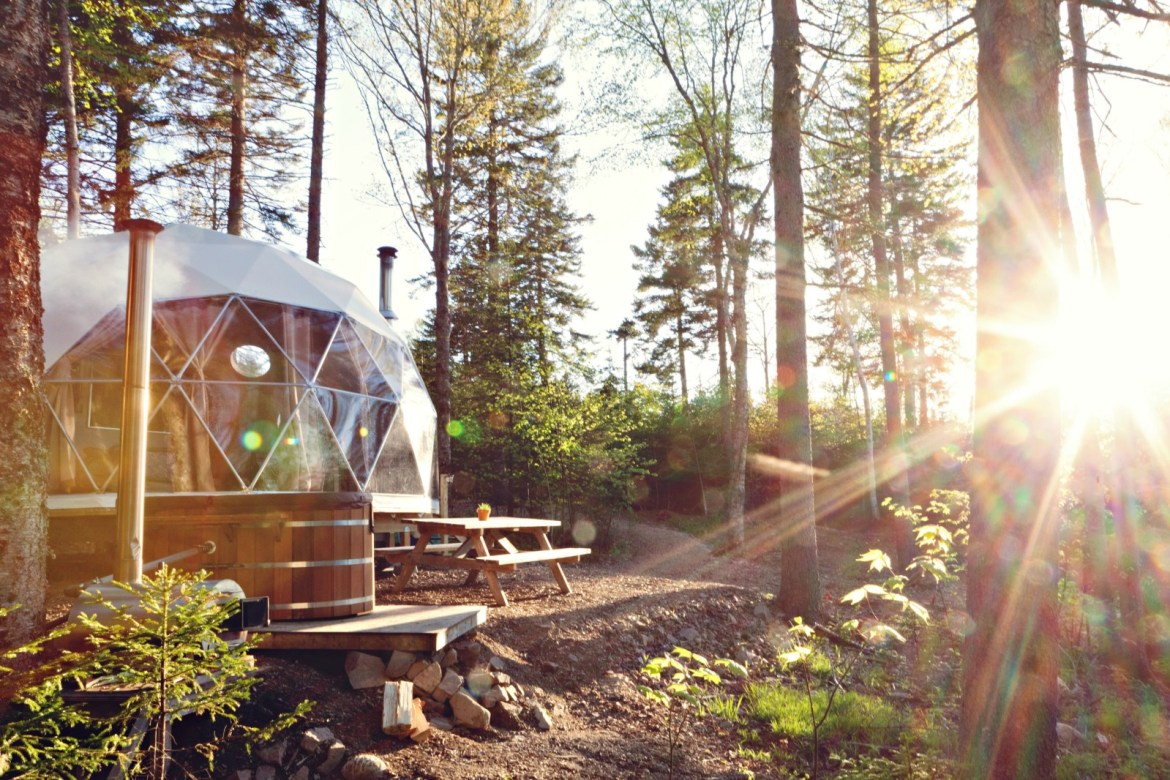 Get to Ridgeback Lodge before any other glamping destination.