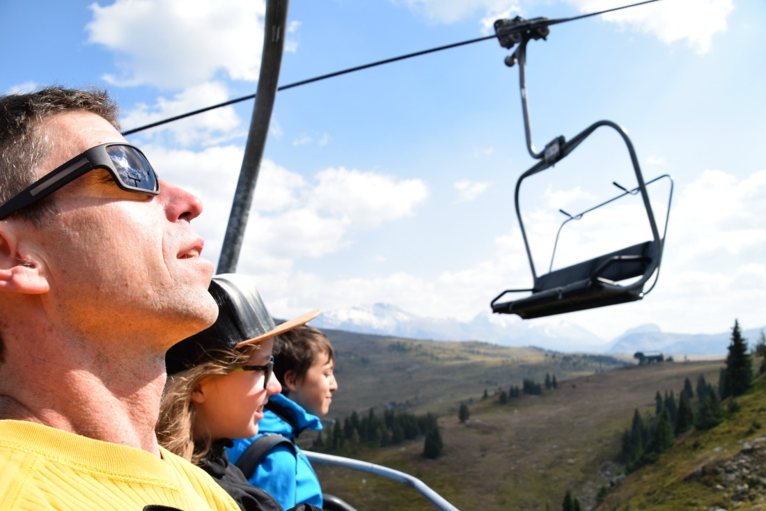 Standish Express chairlift