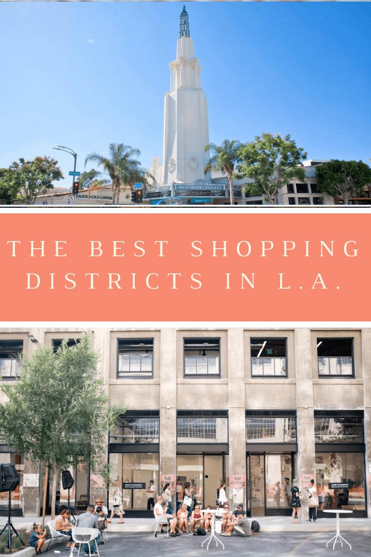 best places to shop in LA