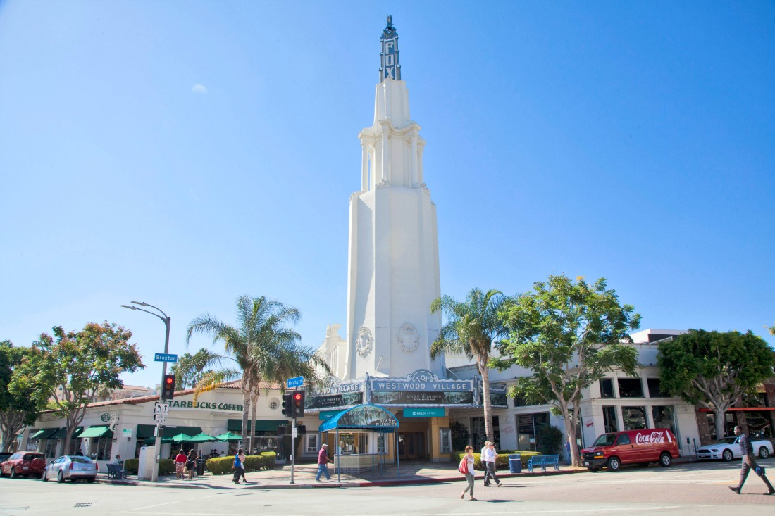 Westwood village movie theatre